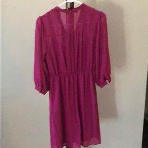 Forever 21 Dresses - Forever 21 pink/purple dress.